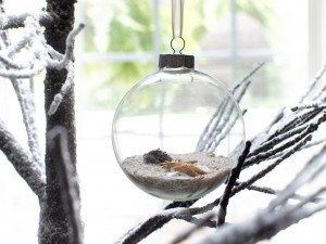 The beach...in an ornament! Photo by HGTV.