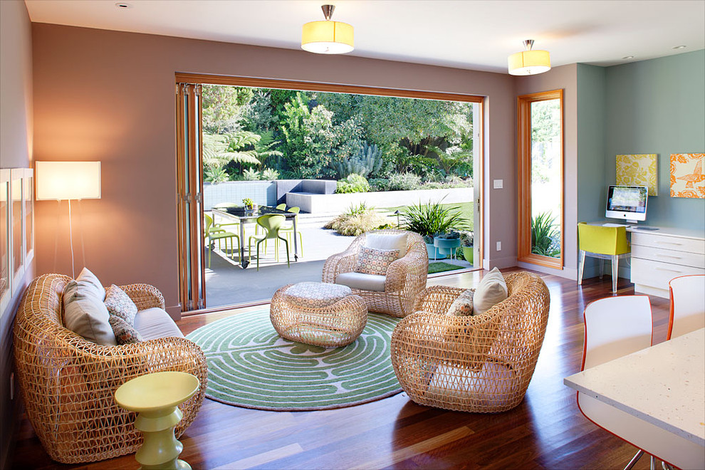 Hot Trend: Using Outdoor Furniture Inside Your Home