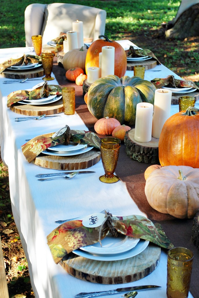 Decorate Your Thanksgiving Table With Diy Centerpieces