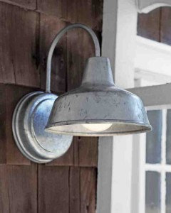 give your outdoor space a facelift with new lighting.