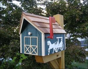 Horse-N-Buggy-Mailbox-1189-A