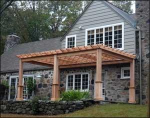 outdoor structure - pergola