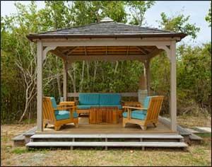 outdoor structure - gazebo