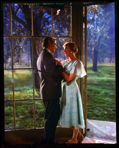"""Christopher Plummer and Julie Andrews in a scene from the 1965 motion picture """"The Sound of Music."""" CREDIT: © 1965, 1993 20th Century Fox/Argyle Enterprises; © 1998 20th Century Fox/Robert E. Wise [Via MerlinFTP Drop]"""