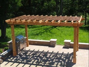 pergola decoration