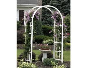 outdoor garden arbor