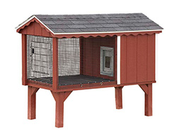 No dog should be outside without a great shelter like this dog kennel