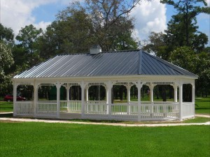 outdoor structure gazebo