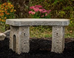 Concrete-Curved-Garden-Bench-12697-A