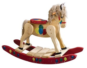 Wooden-Balloon-Painted-Rocking-Horse-D