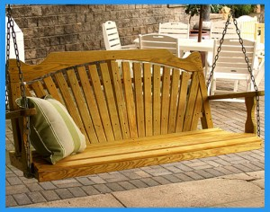 Treated-Pine-Fanback-Porch-Swing