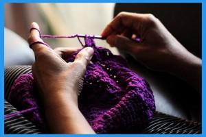 15.Crochet-a-blanket.