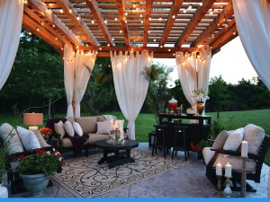Classic-Terrace-Black-Frame-&-Canvas-Heather-Beige-&-Kuna-Sand-Cushions-Lifestyle